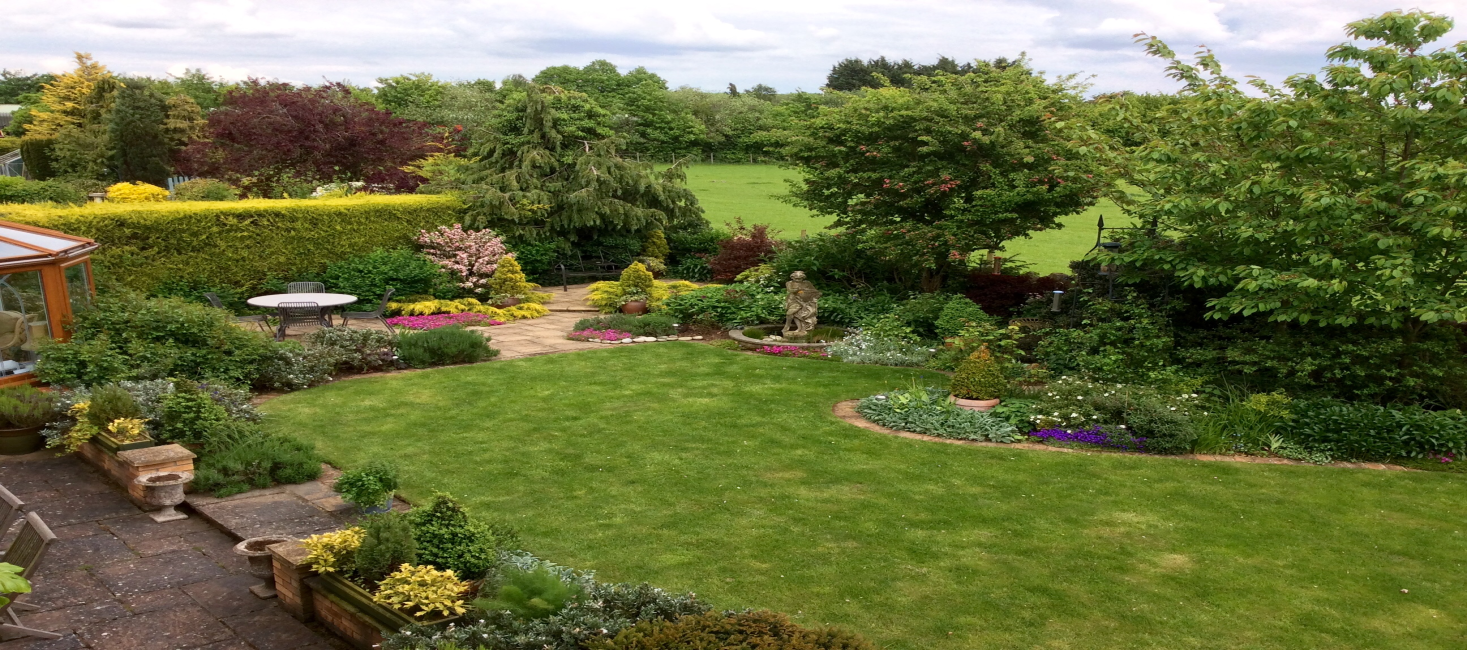 rowan house garden view